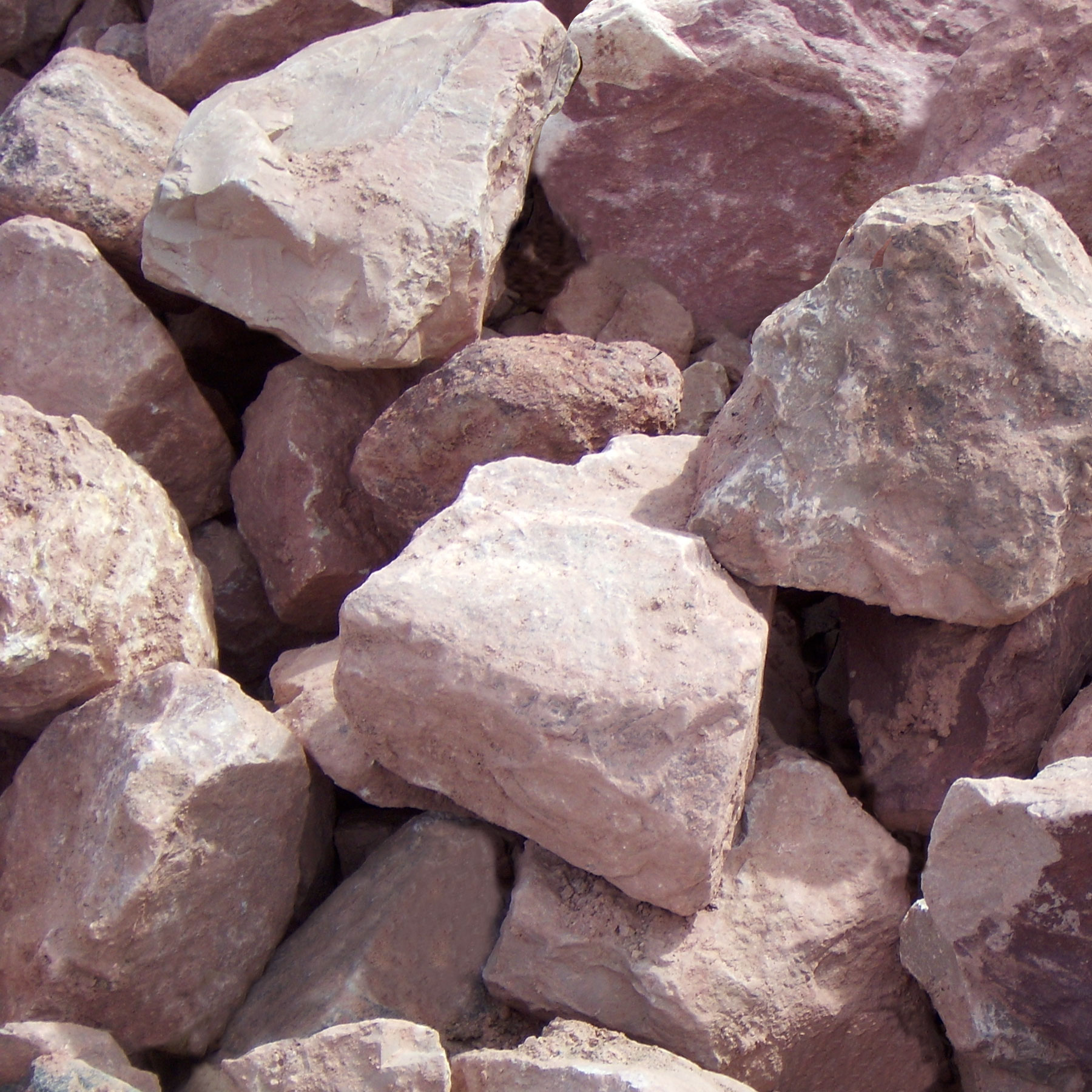 Red Shale Stone : Rhyolite pink shale
